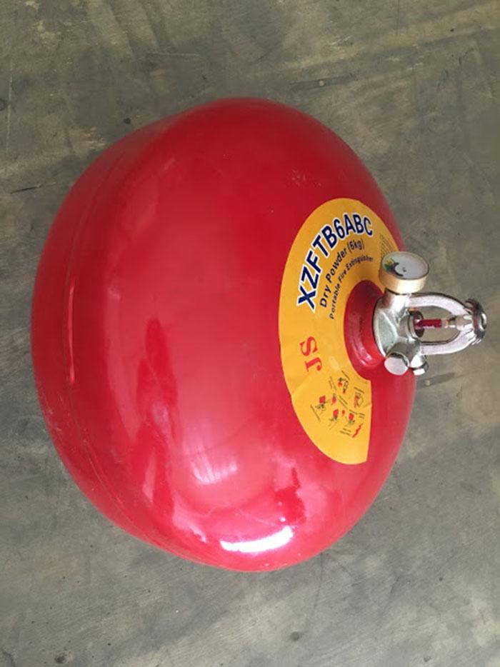 bình cầu chữa cháy 6kg