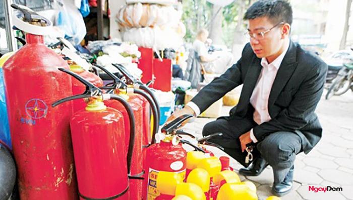 Nơi bán bình chữa cháy cho xe máy